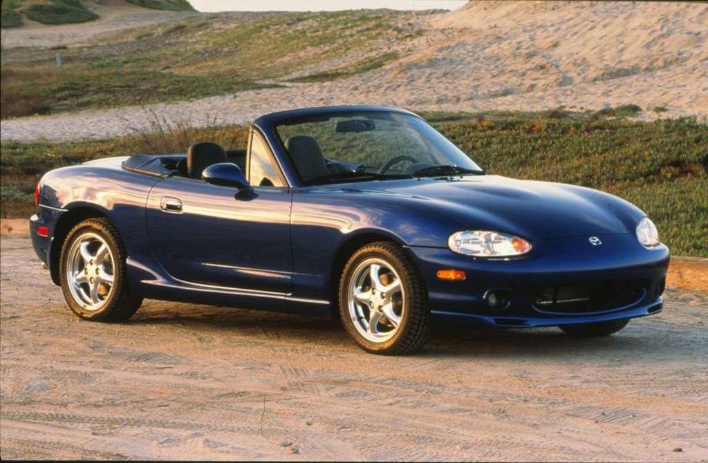 Second-gen Mazda MX-5 Miata, launched in 1998