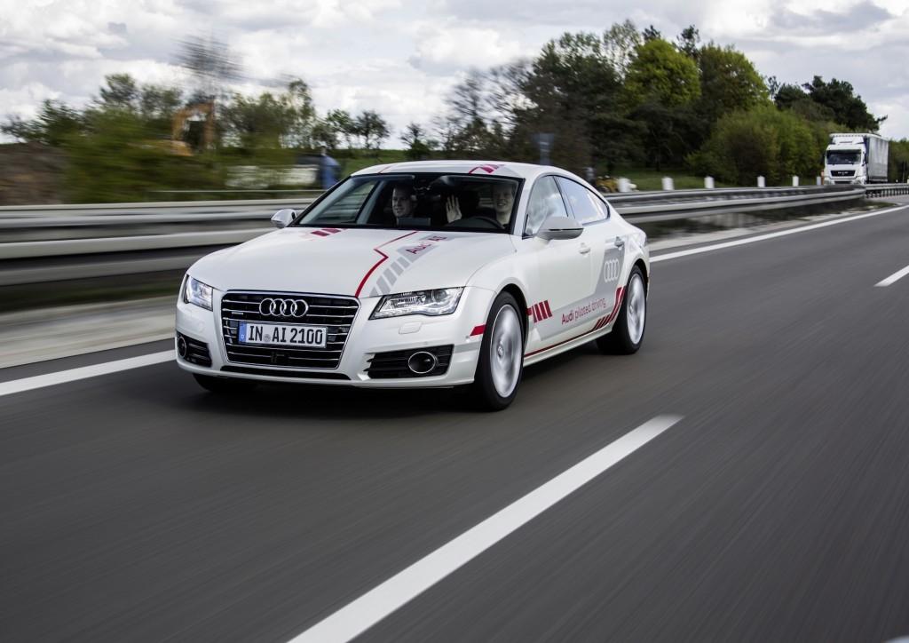 Self Driving Audi A7