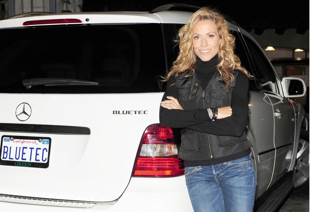 Sheryl Crow loves BlueTEC