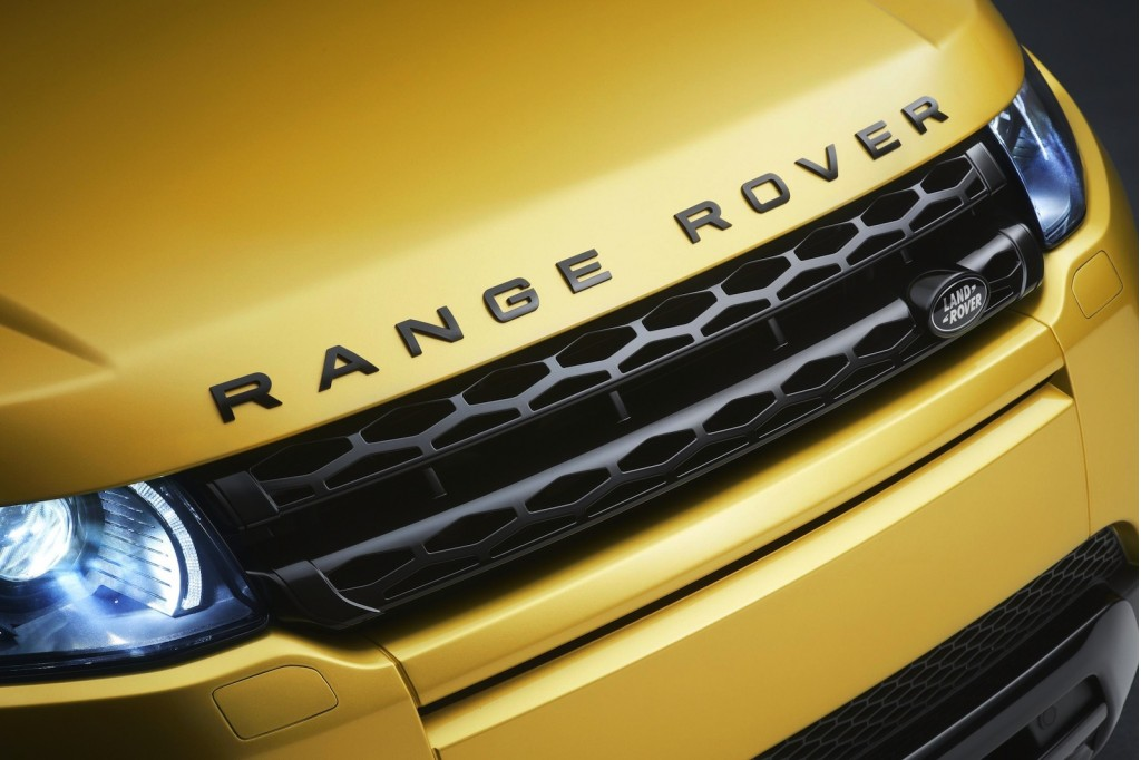 Sicilian Yellow Limited Edition 2013 Range Rover Evoque