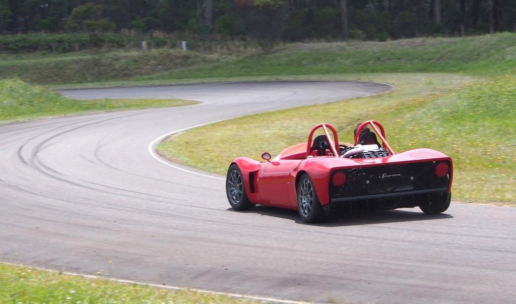 Spartan track car
