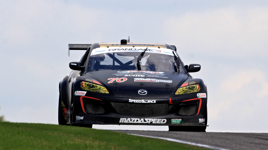 SpeedSource Mazda RX-8 at Barber - Grand-Am photo