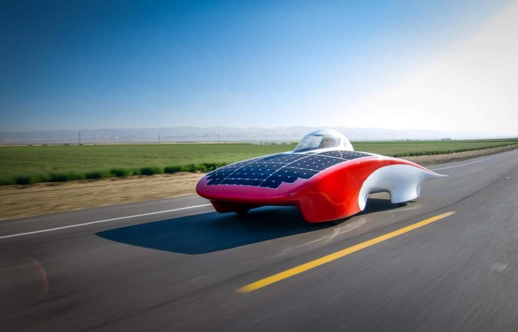 image stanford s luminos world solar challenge car image