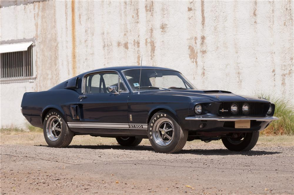 UltraLow Mileage 1967 Shelby GT500 Hits The Block