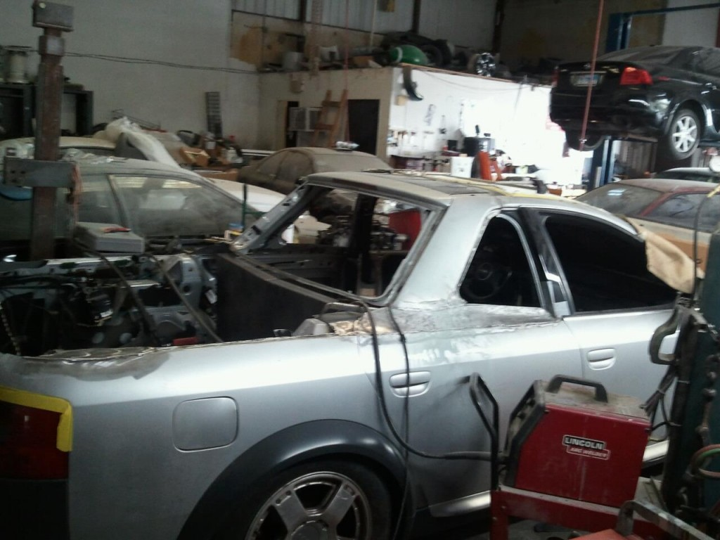 Image Steve Zink 39 S Audi A6 Allroad Pickup Project Photos