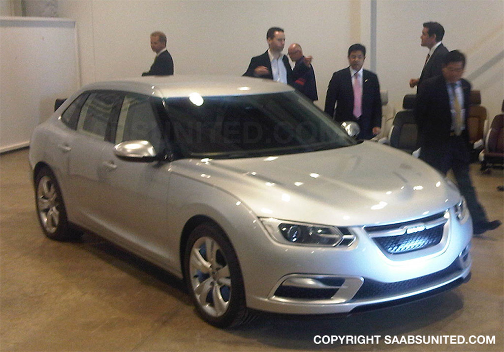 First Photo Of The Phoenix Based Saab 9 3 That Never Was