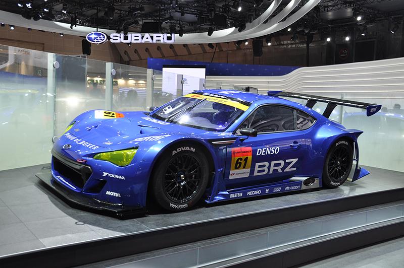 Cars From Tokyo Ss >> Subaru BRZ GT300 Race Car: 2011 Tokyo Motor Show