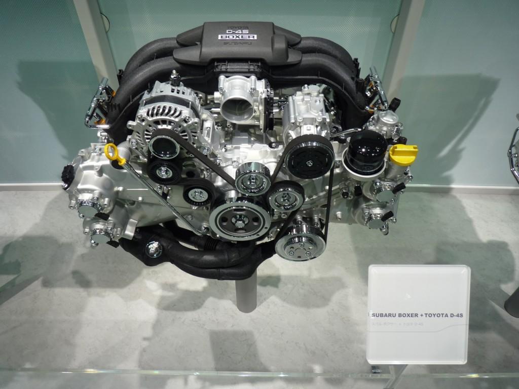Subaru D-4S 2.0-liter boxer four  -  2013 Subaru BRZ