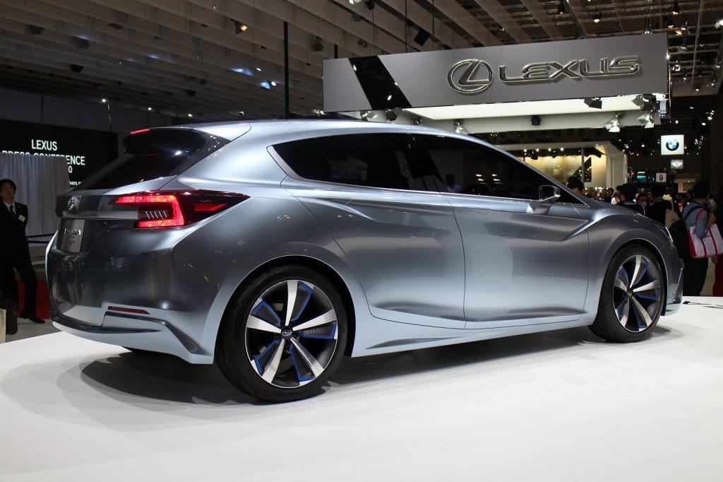 Innovative Image Subaru Impreza 5Door Concept 2015 Tokyo Motor