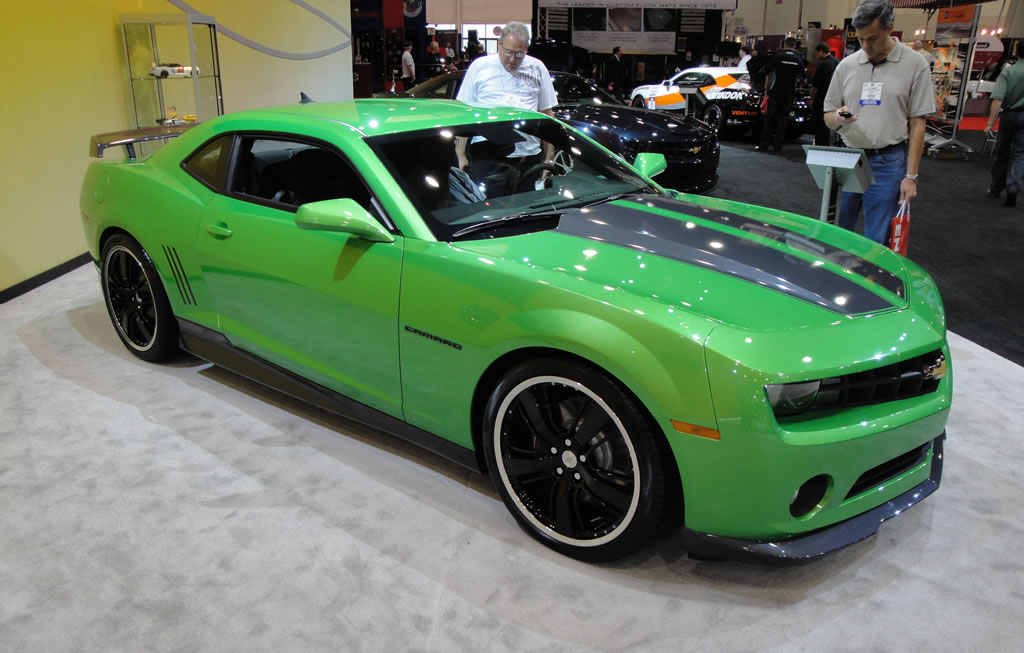 Synergy Green Camaro from SEMA Slated for Production