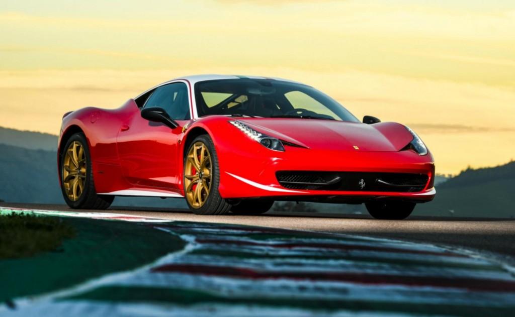 Tailor Made Ferrari 458 Italia honoring Niki Lauda