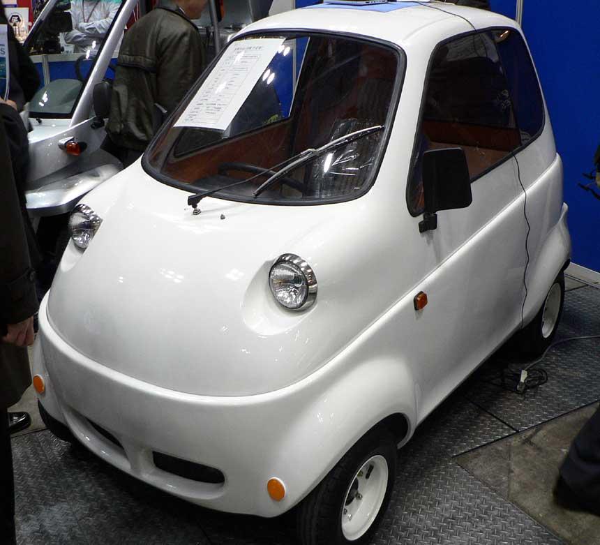 Takeoka Jidosha Kogei Ltd's T10 electric minicar