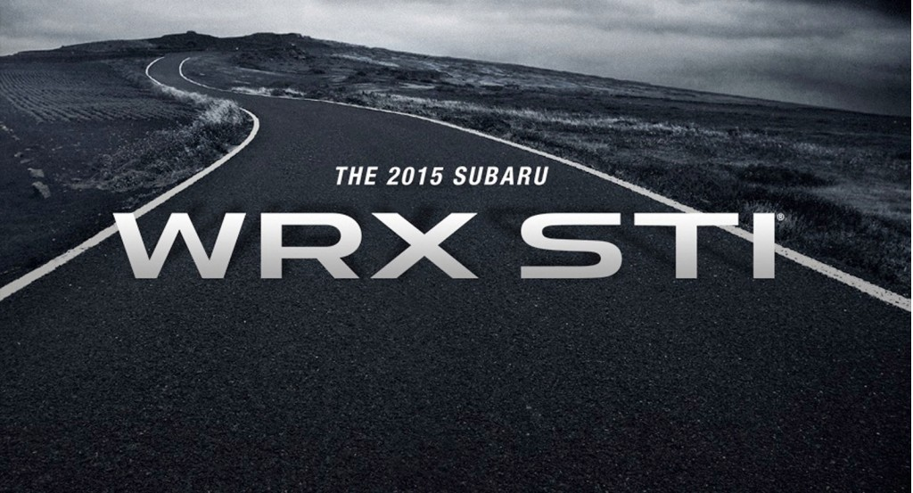 Teaser for 2015 Subaru WRX STI