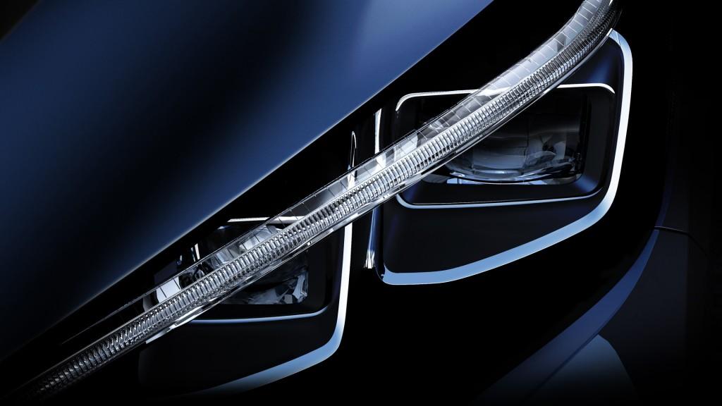 Teaser for 2018 Nissan Leaf debuting in 2017
