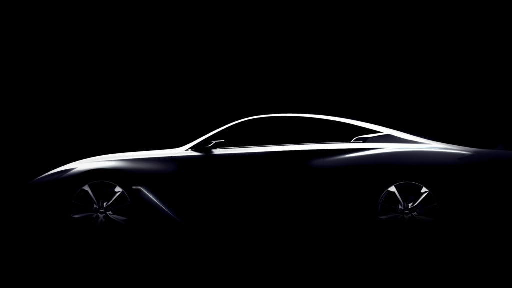 2016 Infiniti Q60 Convertible >> 2016 Infiniti Q60 Teased Ahead Of Detroit Show
