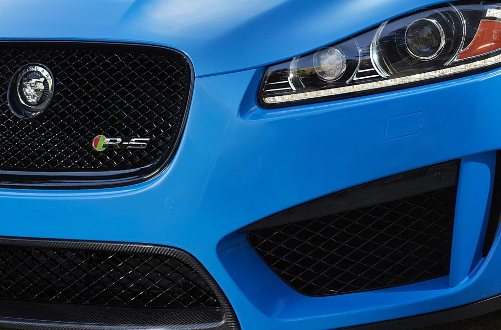 Teaser for new Jaguar XFR-S sports sedan