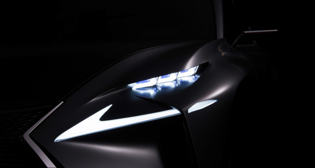 Teaser for new Lexus concept