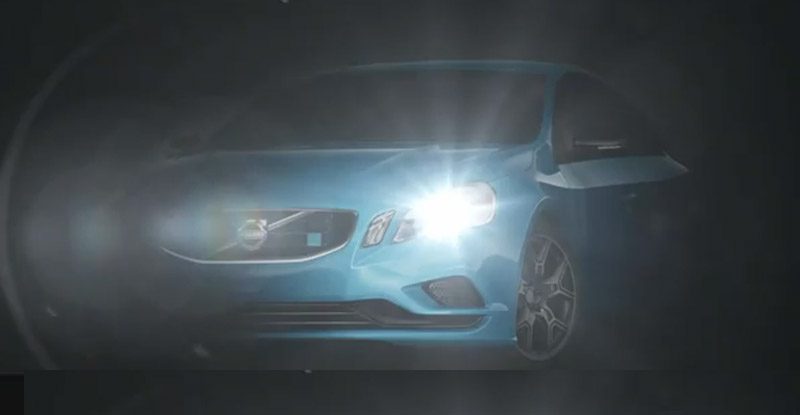 Teaser for Volvo S60 Polestar performance concept