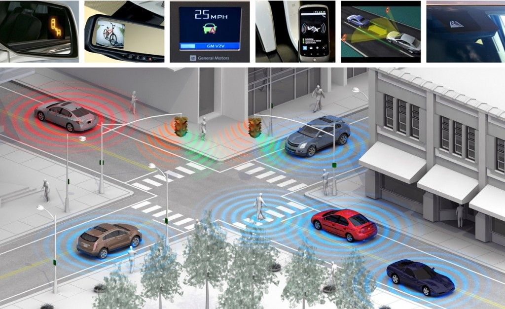 Technology advances will be key to self-driving cars. Image: © GM Corp.