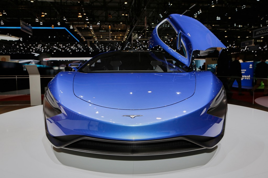 2016 Techrules At96 Trev Supercar Concept: Image: Techrules AT96 TREV Concept, 2016 Geneva Motor Show