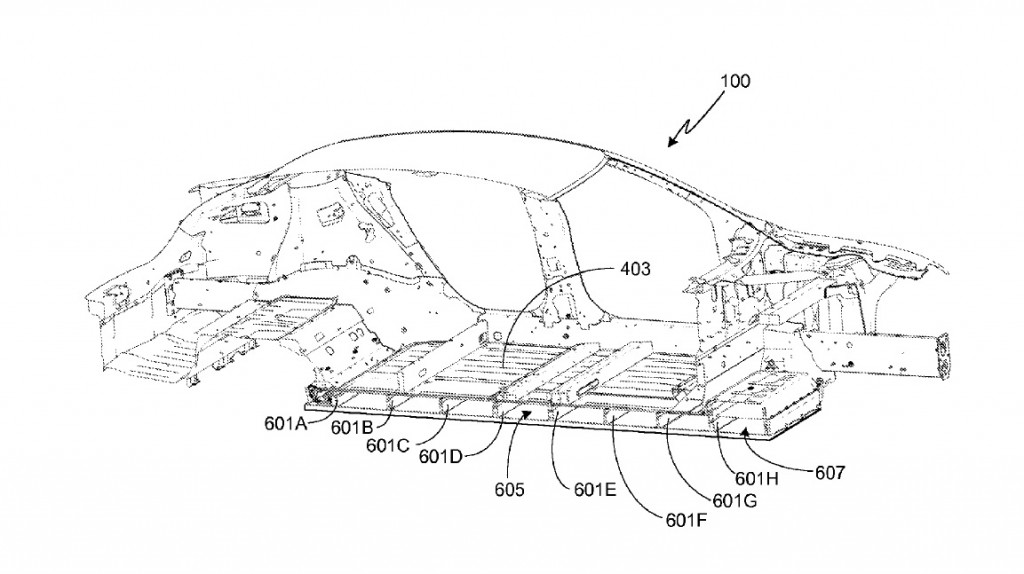 image  tesla model s battery pack  from u s  patent