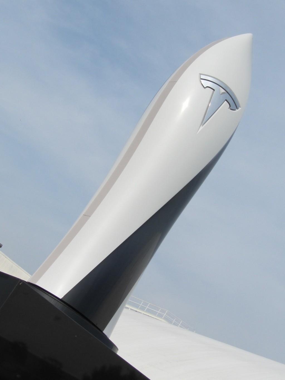 Tesla Supercharger obelisk