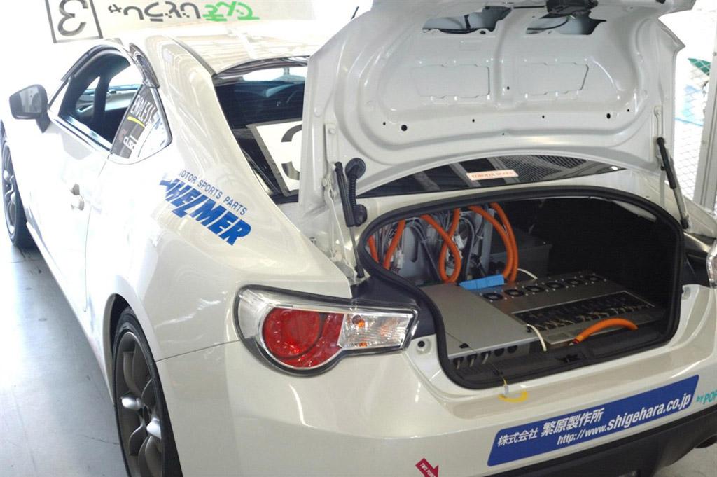 TGMY electric Toyota GT 86 prototype - Image courtesy of Technologic Vehicles
