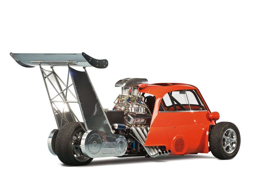 The 1959 BMW Isetta 'Whatta Drag' - image: RM Auctions