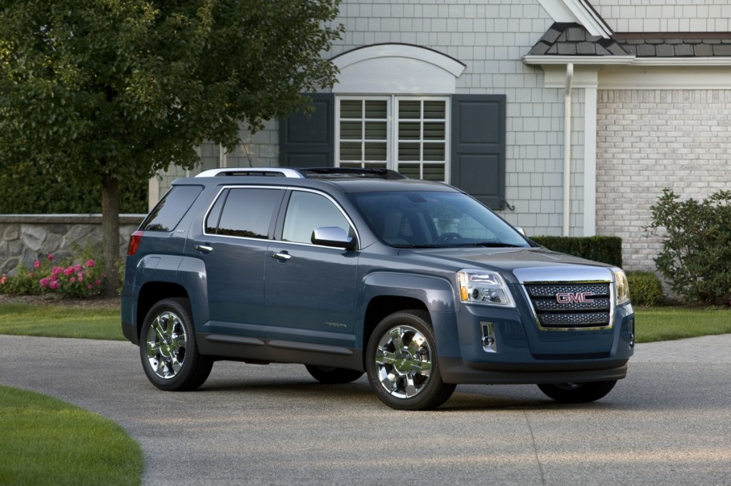 The 2012 GMC Terrain SLT. Image: © GM Corp.