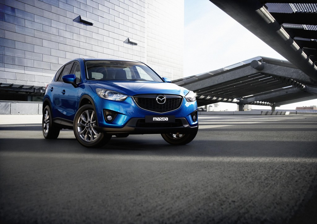 The 2012 Mazda CX-5. Image: Mazda