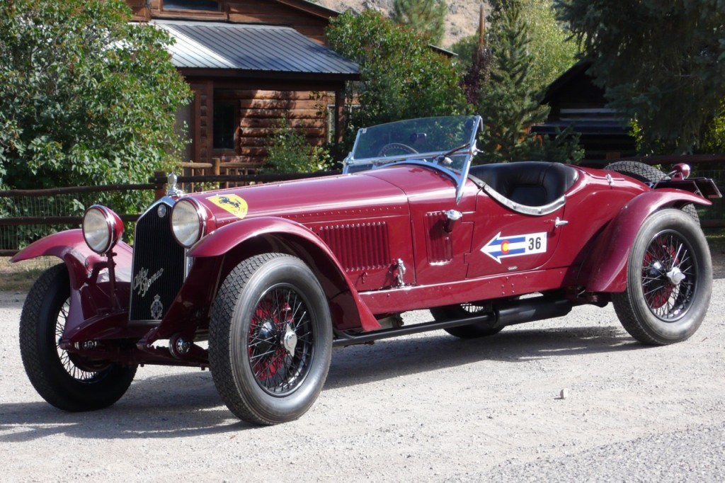 The 2012 Mille Miglia - winning 1933 Alfa Romeo 6C 1500 GS