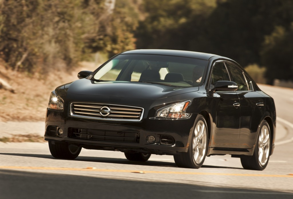 2012 Nissan Maxima Priced From $31,750: Same As Last Year