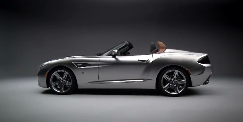 The BMW Zagato Roadster, introduced in 2012