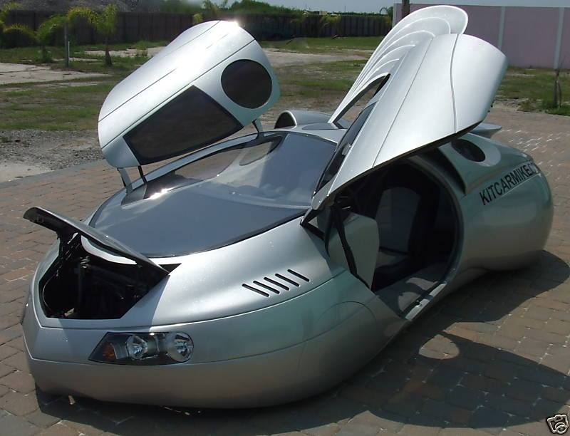 The Extra-Terrestrial Vehicle, by Mike Vetter and The Car Factory