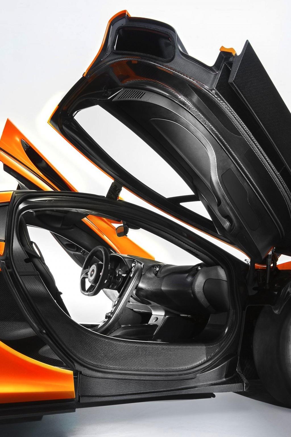 The McLaren P1's interior - image: McLaren