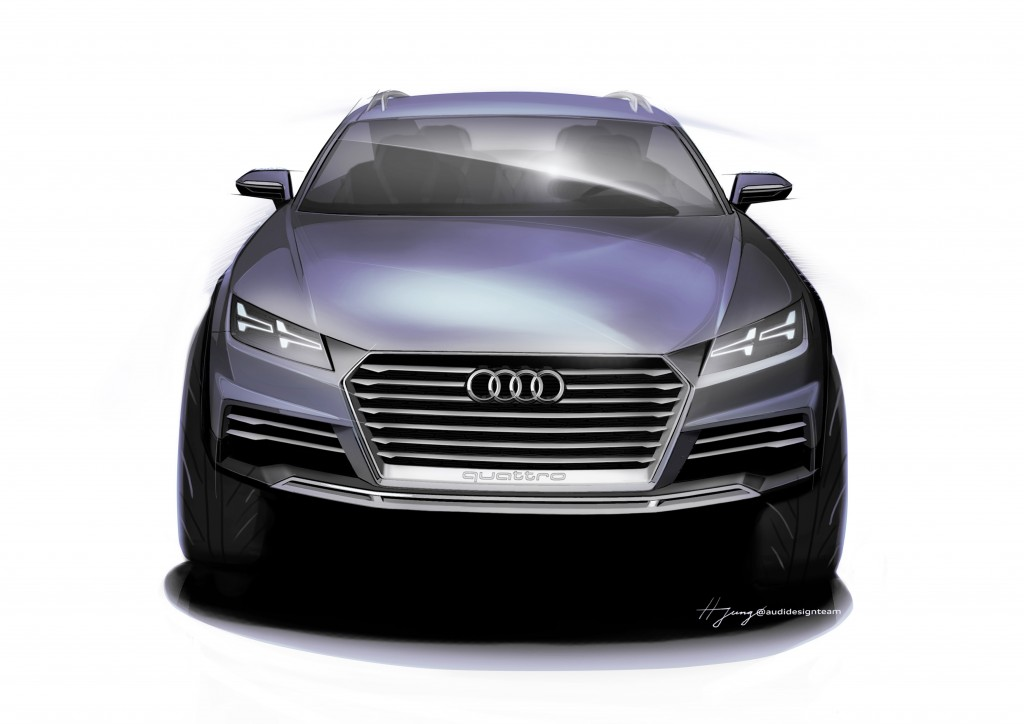 The new Audi show car