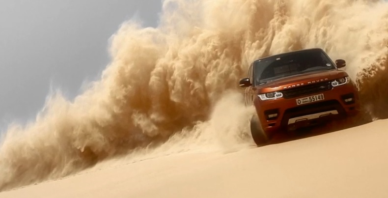 The Range Rover Sport takes on Saudi Arabia's Empty Quarter