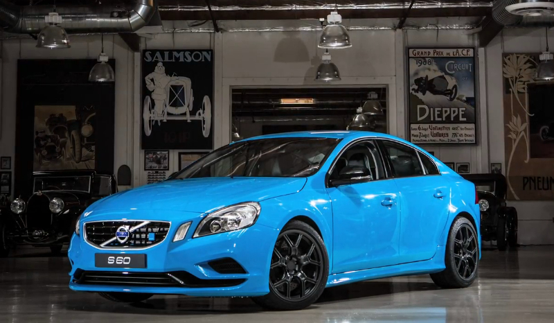 The Volvo S60 Polestar visits Jay Leno's Garage