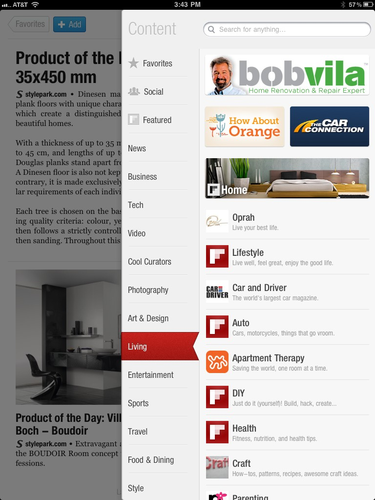 TheCarConnection on Flipboard for iPad