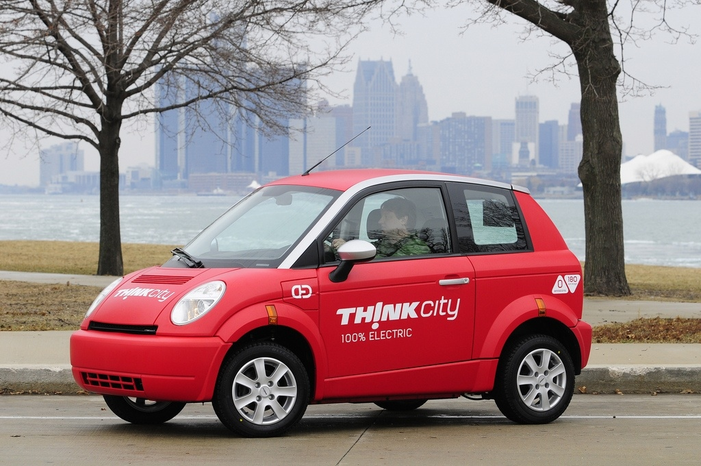 Think City electric vehicle