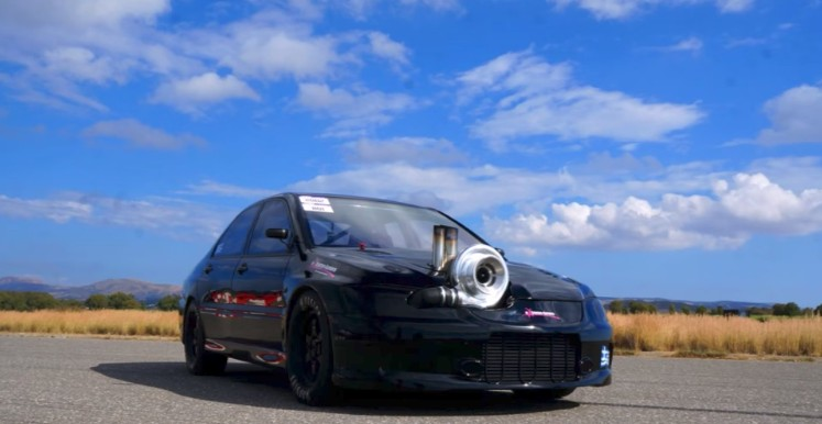 This 1,700-hp Mitsubishi Evo is the quickest in the world