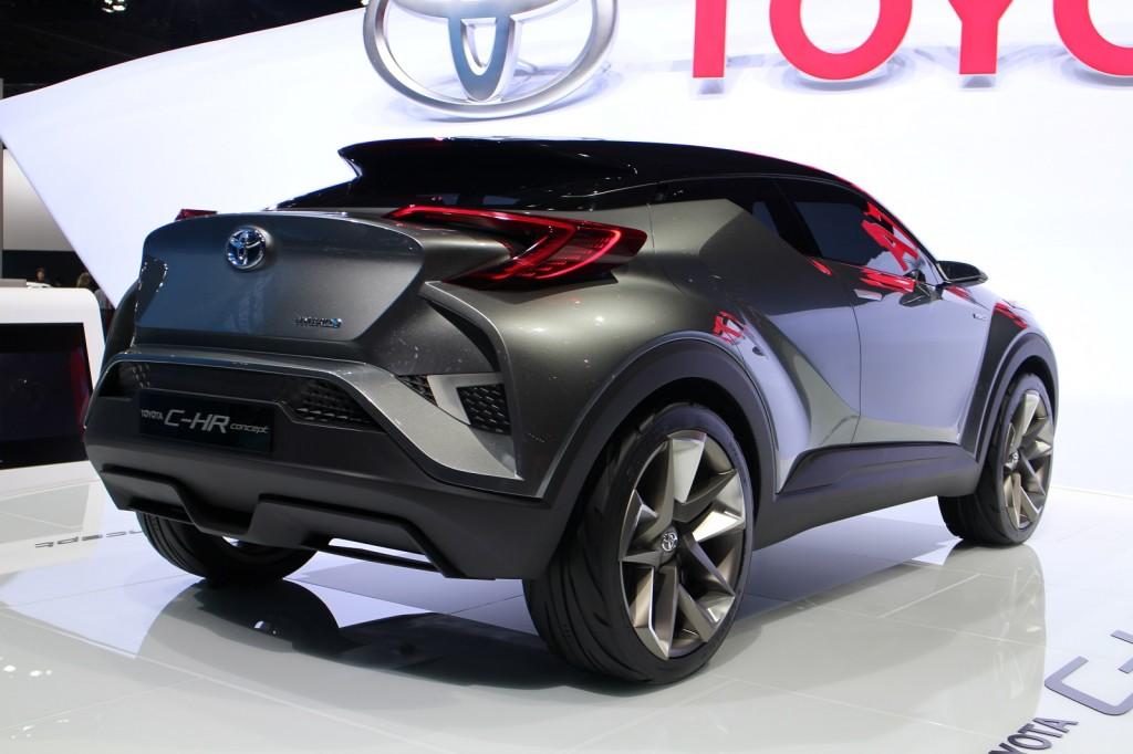 Image: Toyota C-HR Concept (2nd version), 2015 Frankfurt Auto Show ...