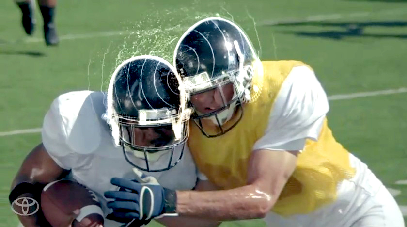 Toyota 'Ideas for Good' ad about head injuries and football helmets