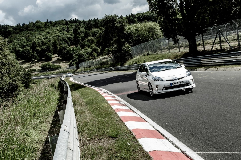 Toyota Prius Plug-In Hybrid on the Nurburgring