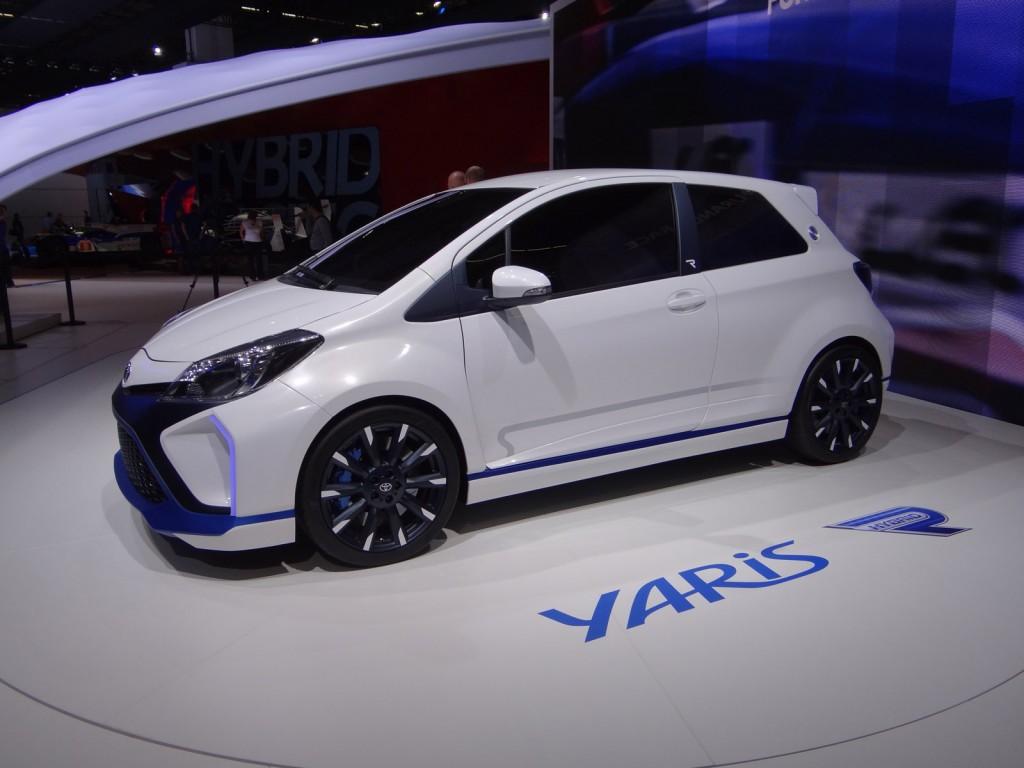 Image toyota yaris hybrid r concept 2013 frankfurt auto for A123 service honda civic