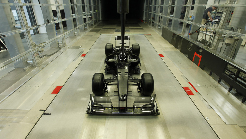 Wind tunnel at TMG facility in Cologne, Germany