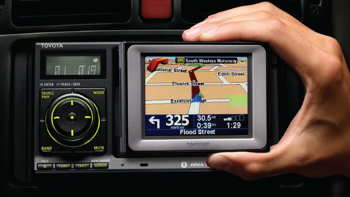 Toyota's FollowMe navigation unit