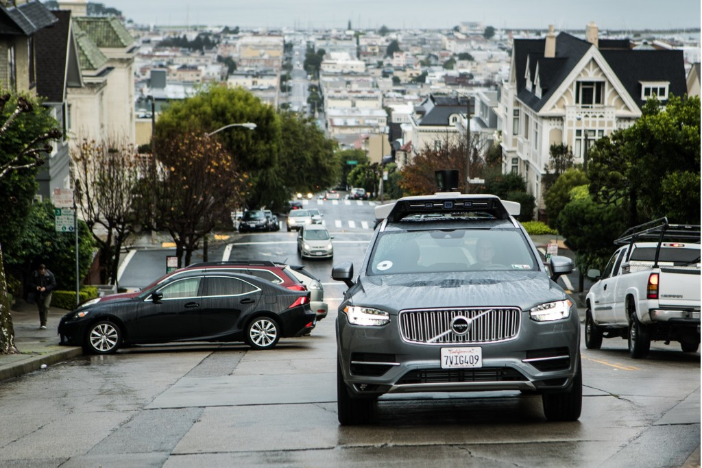 Uber takes self-driving cars to San Francisco, DMV isn't happy