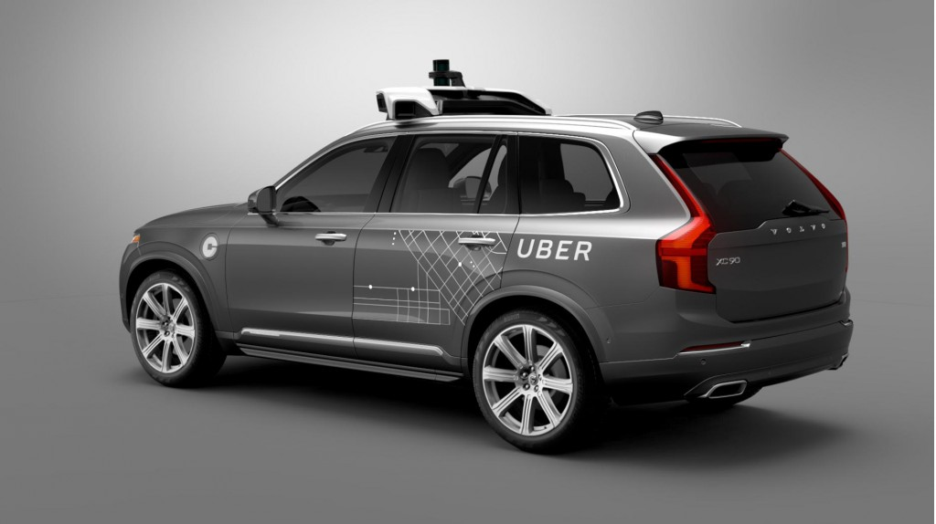 Uber parks self-driving car fleet after wreck