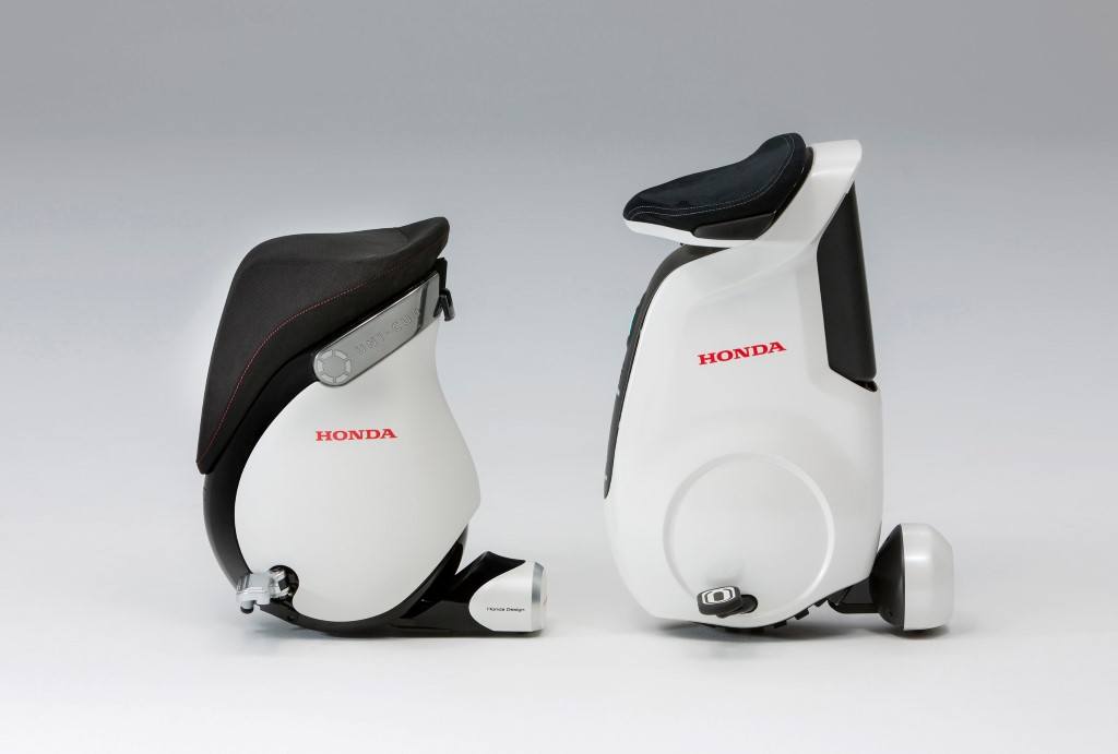 Honda Refines Uni-Cub Electric Personal Mobility Device